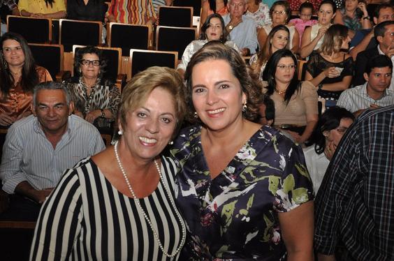 Ex-governadora Rosalba Ciarlini e ex-prefeita Cláudia Regina