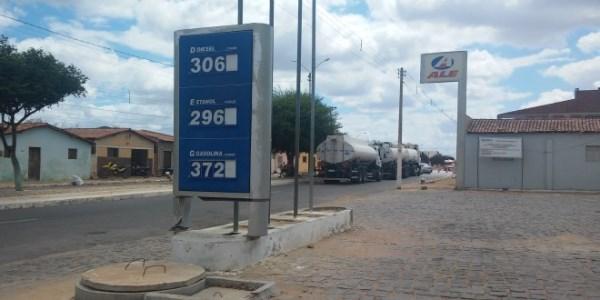 Em Jandaíra, João Câmara e outros municípios do RN, a gasolina subiu três vezes