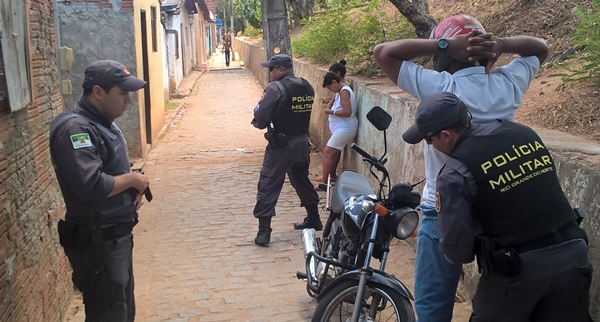 Operação saturação desenvolvida pela polícia