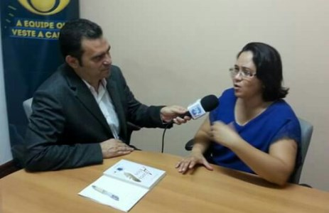 Nildinha entrevistada no Conexão Potiguar na Band