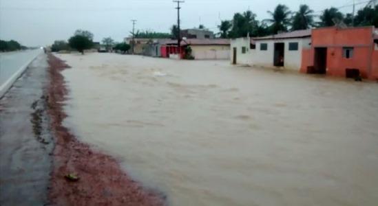 Emparn registra chuvas de 110mm em Jandaíra