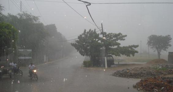 Continua chovendo em vários municípios do RN