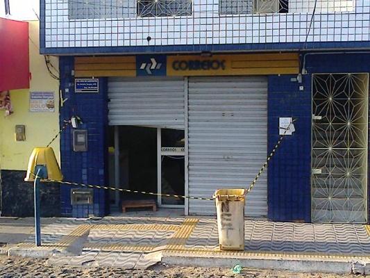 Agência dos Correios é arrombada em Campestre(Foto: O Paralelo Campestre)