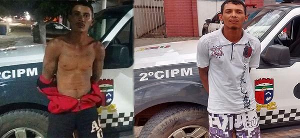 Robson Rodrigo e Maurílio Pontes foram recapturados pela PM nas cidades de João Câmara e Caiçara do Norte, respectivamente.