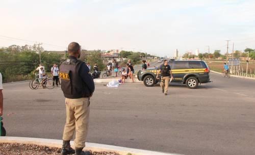 Mototaxista morreu no local do acidente